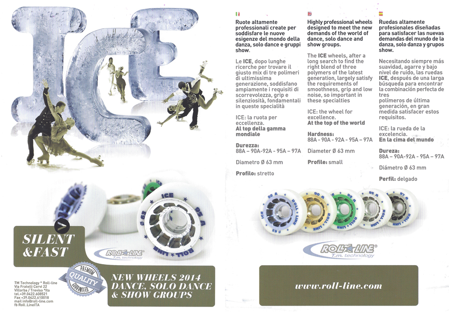 Ice Roll-Line Products 2015