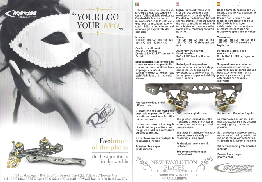 Evo Roll-Line Products 2015