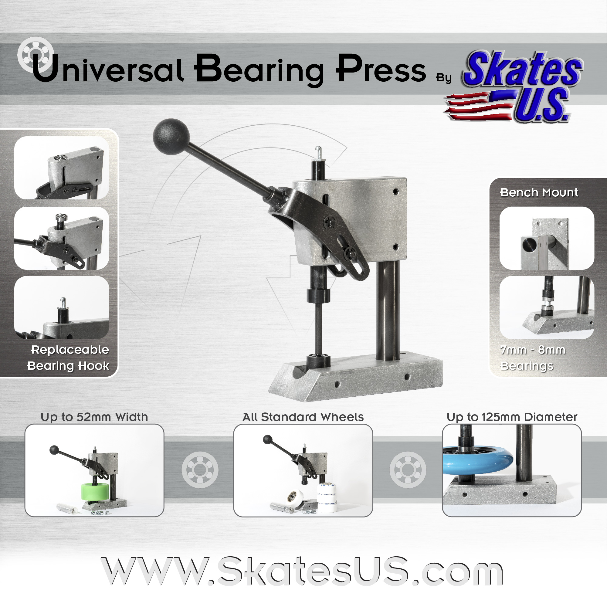 Tavola-disegno-1@2000x-80 Universal Bearing Press Precision Heavy Duty