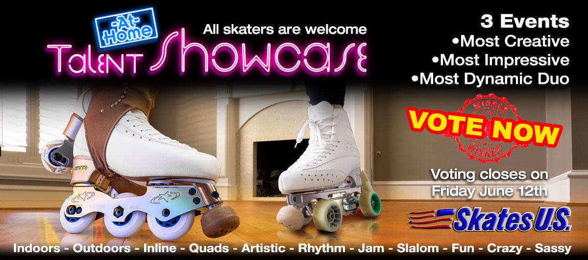 SkatesUS_Talent_ShowCase-Banner_v2 At Home Talent Showcase Vote!